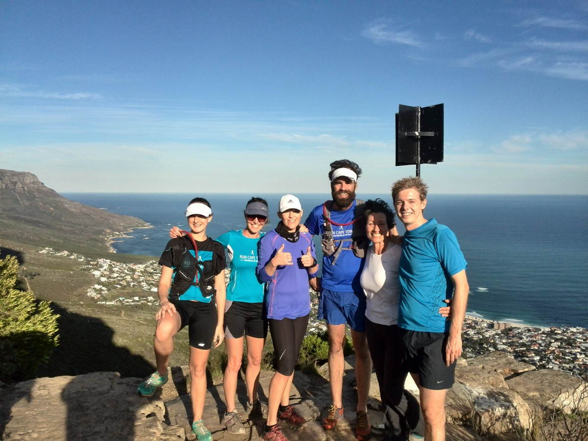 Table Mountain Trail Running Cape Town