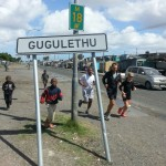 Run Gugs running in Gugulethu in Cape Town