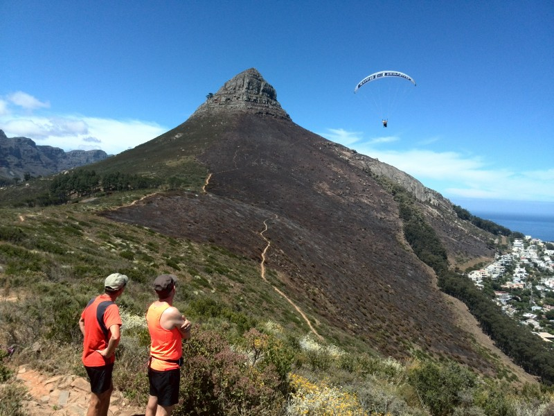 Trail running in Cape Town
