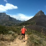 Trail running on Lion's Head