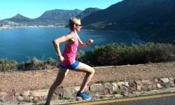 Running tours of Cape Town, running Chapman's Peak