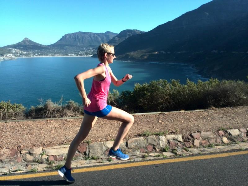 Running tours of Cape Town, running Chapman's Peak